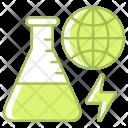 Search Renewable Energy Icon