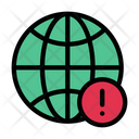 World Global Warning Icon