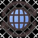 Global Exchange Globe Gobal Icon