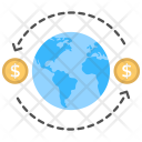 Global Exchange Sending Icon