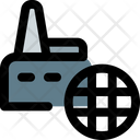 Global Factory Industry Factory Icon