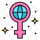 Global Feminism Feminism Earth Icon