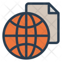 Global File World Icon