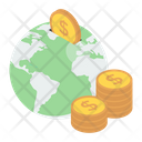 Global Finance International Money Foreign Currency Icon