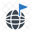 Global Flag Icon