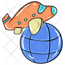 Air Flight Air Travel Global Flight Icon
