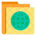 World Folder Global Folder Icon