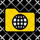Folder Directory Web Icon