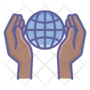Global Hands Icon