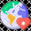 Global Health Global Healthcare Worldwide Healthcare Icon
