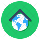 Global Home Global House Global Network Icon