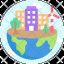 Global House House Home Icon
