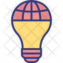 Global Idea Global Innovation Global Technology Icon