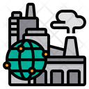 Global Industry Industrial Factory Icon