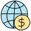 Global Business Global Investment Global Money Icon