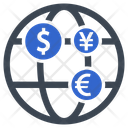 Currency Finance Global Investment Icon