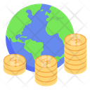 World Investment Global Investment International Investment Icon