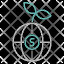 Global Money Strategy Icon