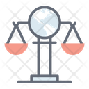 Global Justice International Law Justice Scale Icon