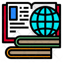 Elearning Book Laptop Icon