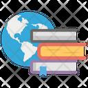 Global Literature International Education Virtual Learning Icon