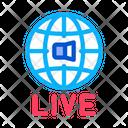 App Application Broadcast Icon
