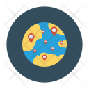 Location Global Online Icon