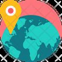 Location World Globe Icon