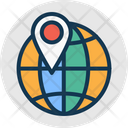 Global Location Globe Gps Icon