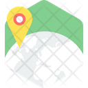 Location Map Pin Icon