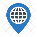 Location Global Map Icon