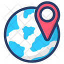 Global Location Icon