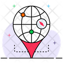Global Location Plane Location Location Navigator Icon