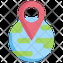 Global Map Navigation Icon