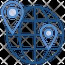 Education Globe Location Icon