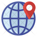 Global Access International Location Location Pin Icon
