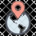 Geolocation Global Location Location Icon