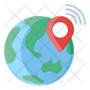 Global Location Pinpointer World Location Icon