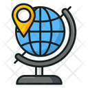 Geography Globe Table Globe Geographic Equipment Icon