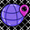 Global Location World Location International Location Icon