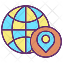 Mlocation Map Earth Globe Global Location Earth Location Icon