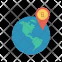 Location World Map Icon