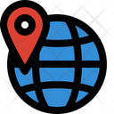 Globe Location World Icon Icon