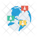 Map Earth Location Icon