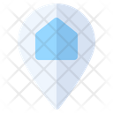 Home Location Map Icon