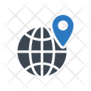 Global Map Location Icon