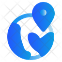 World Gps Navigation Icon