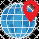 Logistics Delivery Location Icon