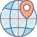Mlocal Search Global Location Local Search Icon