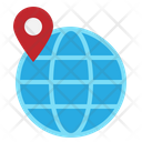 Location Globe Map Icon